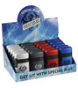 Special Blue Dual Flame Mini Plastic Lighter 20pc Display