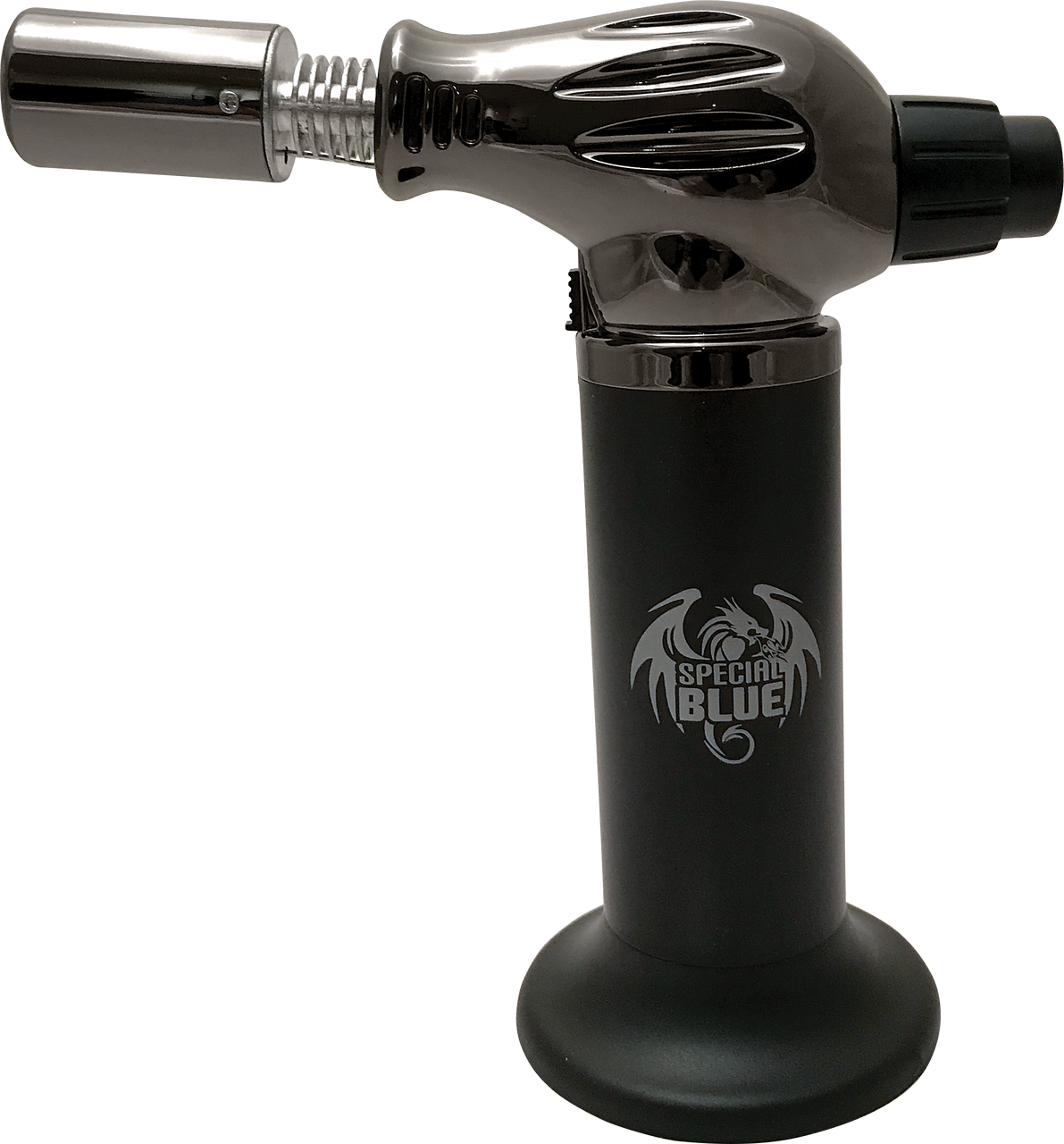 """Special Blue Butane Torch - The Flamethrower Dual Flame 7.25"""""""