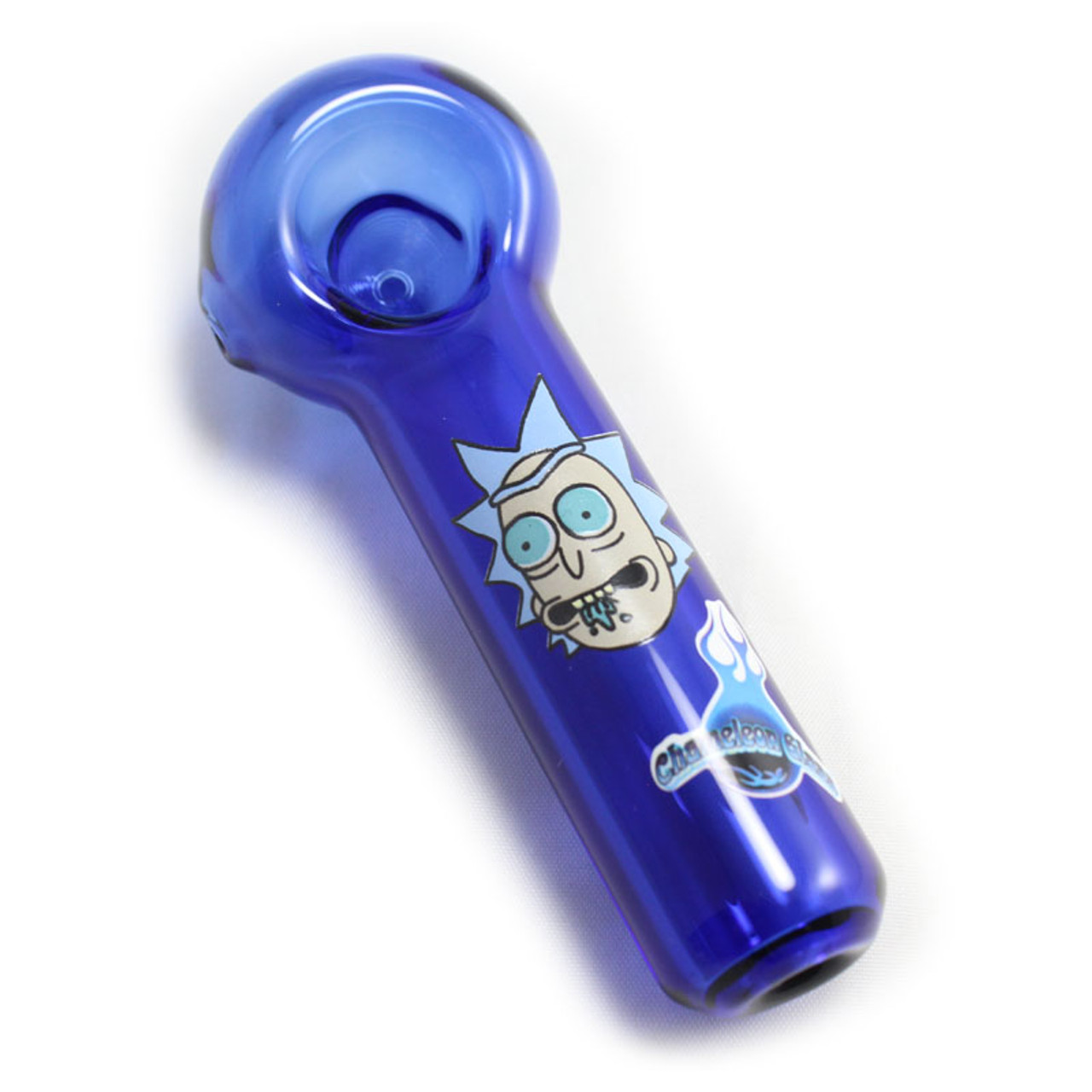 Chameleon Glass - Tripping Rick Spoon Pipe