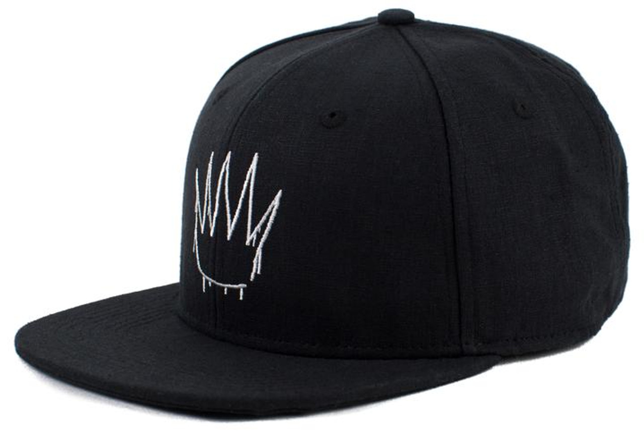 No Bad Ideas - Snapback Cap - Crown - Black Hemp
