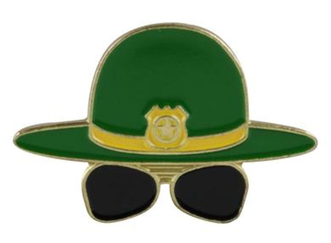 Herbivore Hat Pins - Super Troopers Hat & Glasses