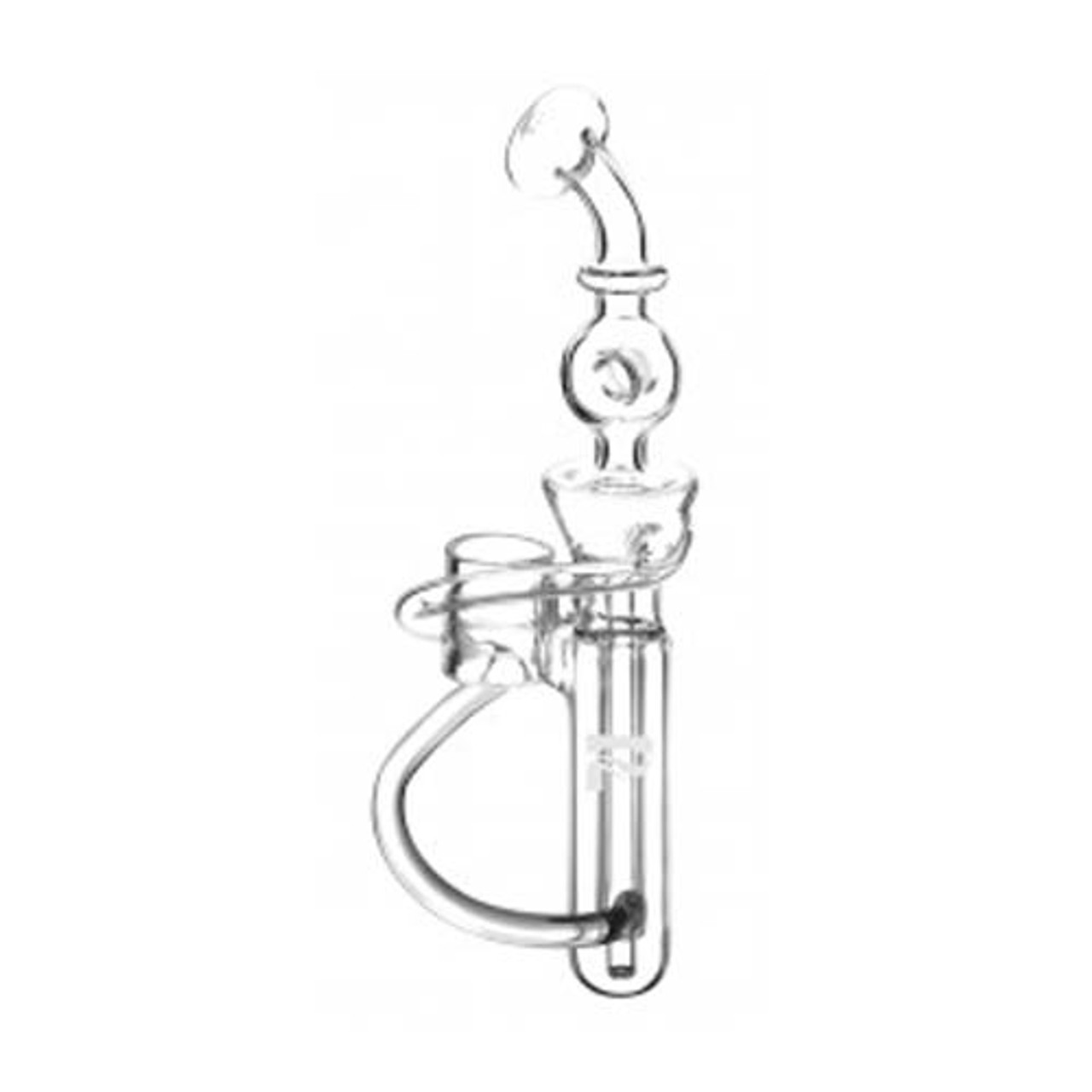 Pulsar Hand E-Nail V3 Glass Recycler Mouthpiece