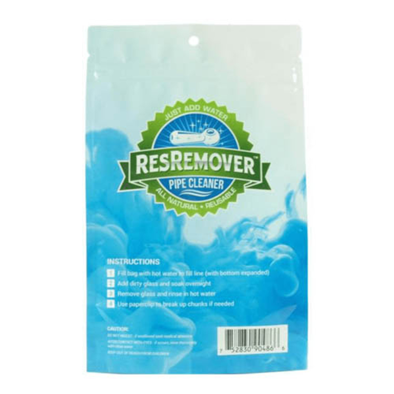 ResRemover Pipe Cleaner .5oz Pouch - Just Add Water (Display of 25)