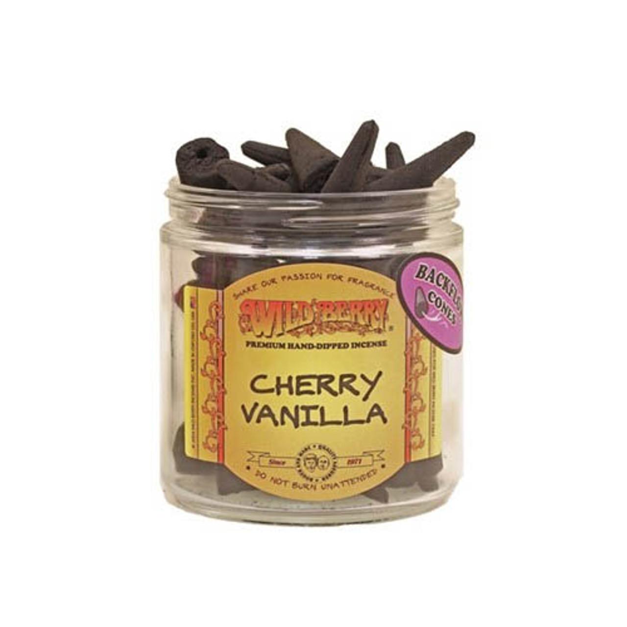 Wild Berry Incense Backflow Cones (Bag of 25)