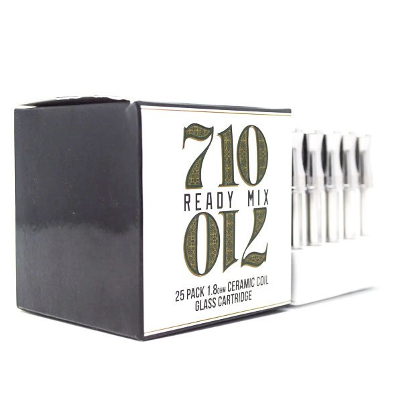 710 Ready Mix - G3 Glass Cartridge 0.5ml Ceramic 25pk