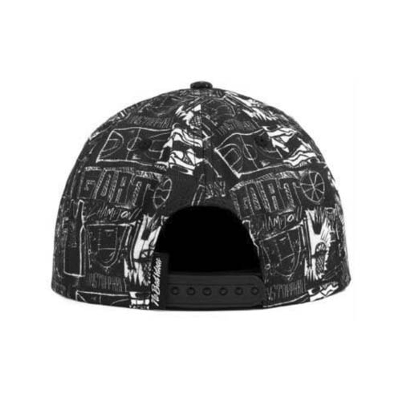 No Bad Ideas - Snapback Cap - Hoop Dreams (Black/Hoops)