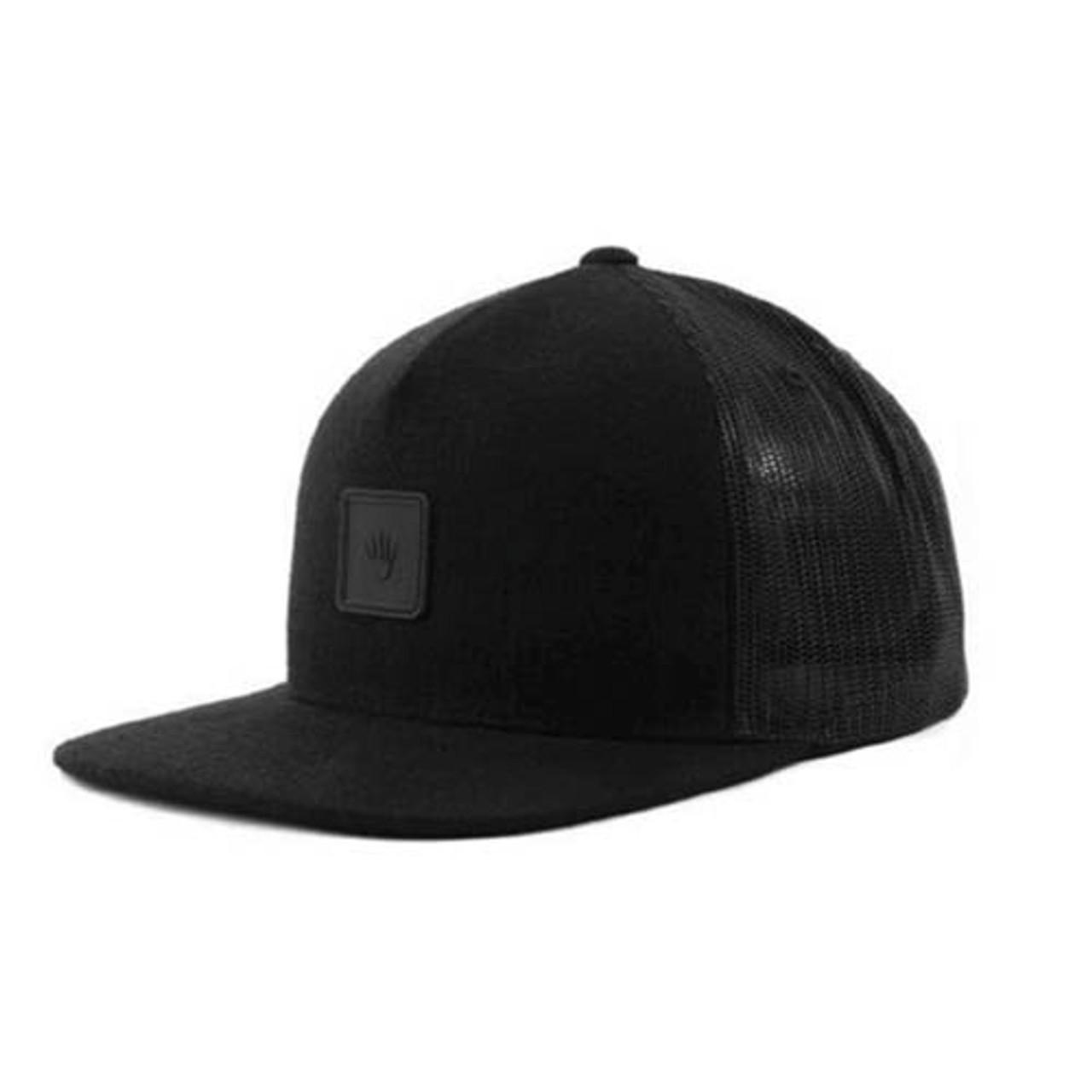 No Bad Ideas - Snapback Cap - Omri Leather Patch (Black)