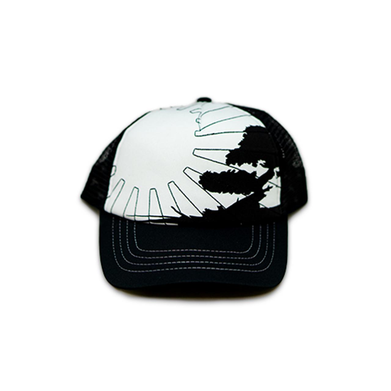 No Bad Ideas - Snapback Trucker Cap - Jacobs (BlkWhite/Sun)