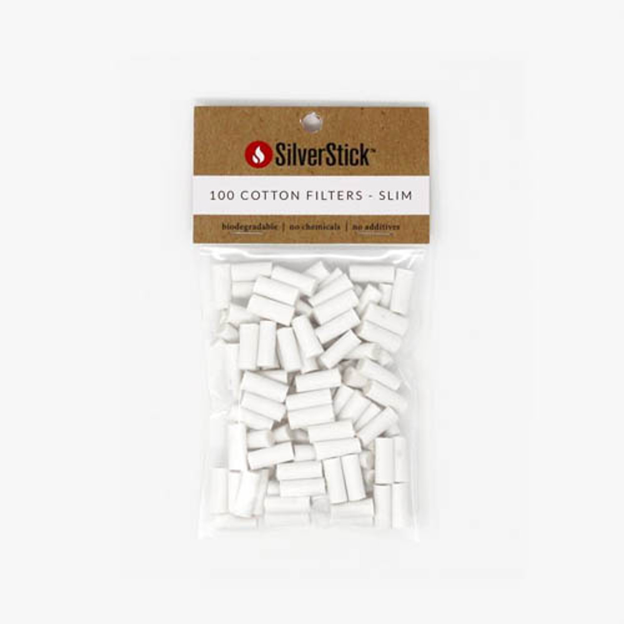SilverStick Replacement Cotton Filters 100ct