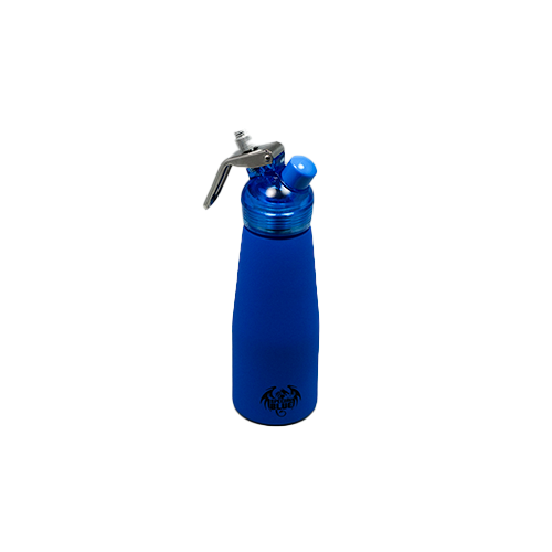 Special Blue Suede Series .5 Liter (1 Pint) Aluminum Dispenser w/ Plastic Head