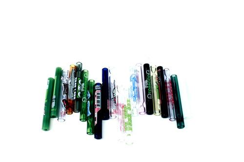 """Grav Labs 3"""" 9mm Glass Taster - Whimsical Decal 20/pk"""