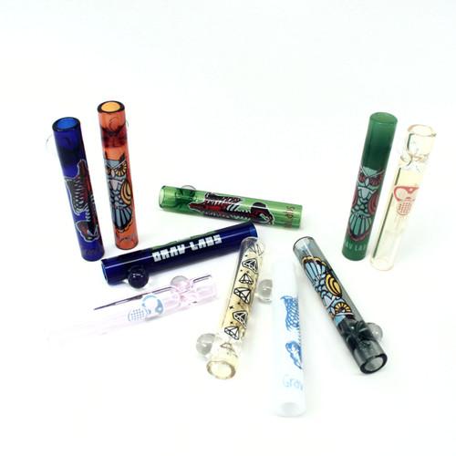 """Grav Labs 3"""" 12mm Glass Taster - Whimsical 10/pk"""