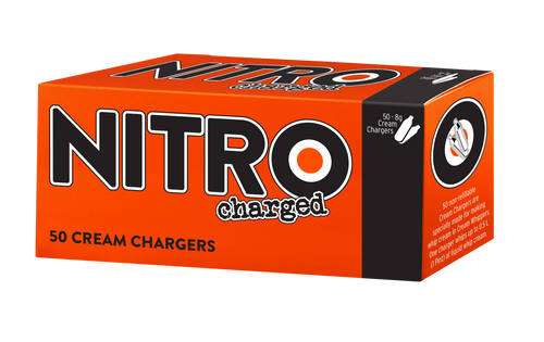 Nitrocharged Cream Chargers
