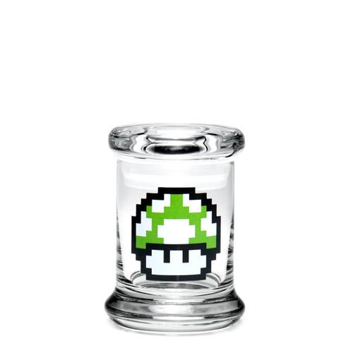 420 Science Extra Small Pop-Top Jar - 1-Up Mushroom