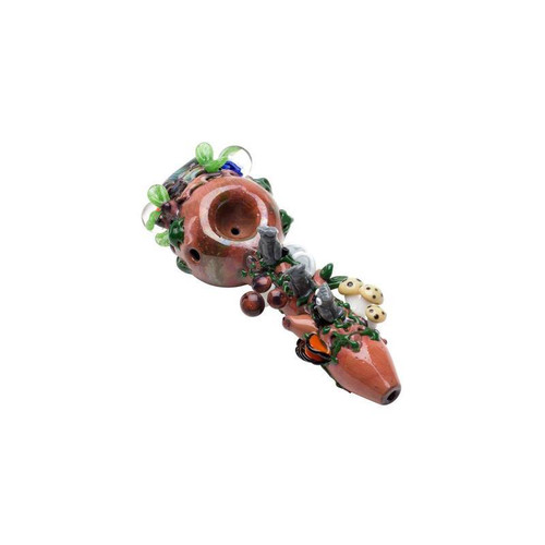 "Empire Glassworks - 4"" Spoon Pipe - Hootie's Forst"