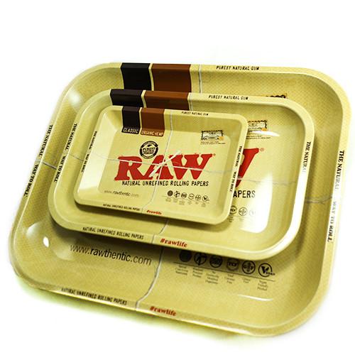 Raw High Sided Rolling Tray