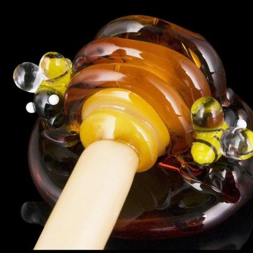 Empire Glassworks - Dabber - Honey Comb