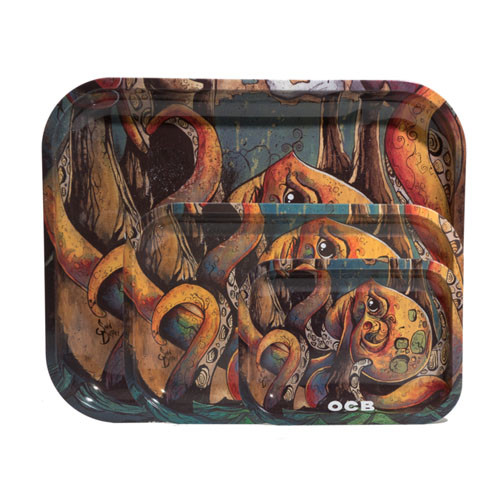 OCB - Limited Edition Metal Tray - Max vs Octopus
