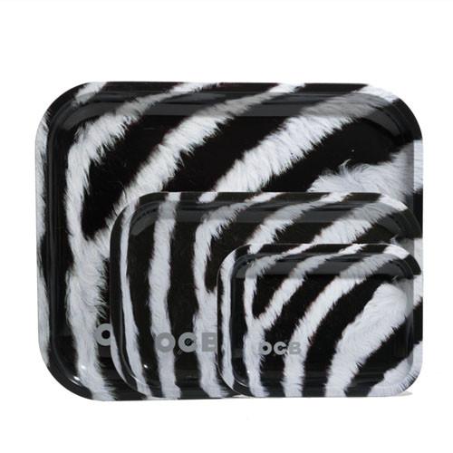 OCB - Limited Edition Metal Tray - Zebra