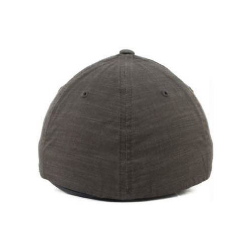 No Bad Ideas - Flexfit Cap - Derby Leather Patch (Olive)