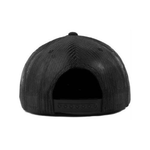 No Bad Ideas - Snapback Cap - Omri Leather Patch (Black)