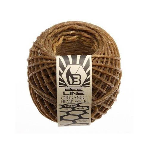 Bee Line Organic Hemp Wick Spool