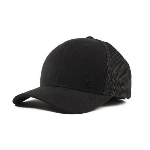 44b9d24f7cb669 No Bad Ideas - Flexfit Cap - Walton Mesh (Black Black)