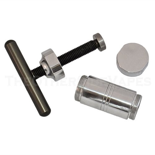 Assorted Sizes Grindhouse T-Press Stainless Steel Pollen Press Medium