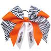 Extra Large Double Layer Zebra Bow