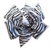 Large 4 Loop Zebra Bow