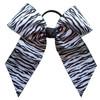 Large Zebra Bow + Sport or Mascot  LB100ZE LB100ZESP LB100ZEMS