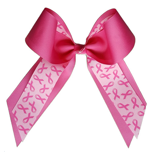 Two Color Two Layer Awareness Bow  LB950GGBC2ST