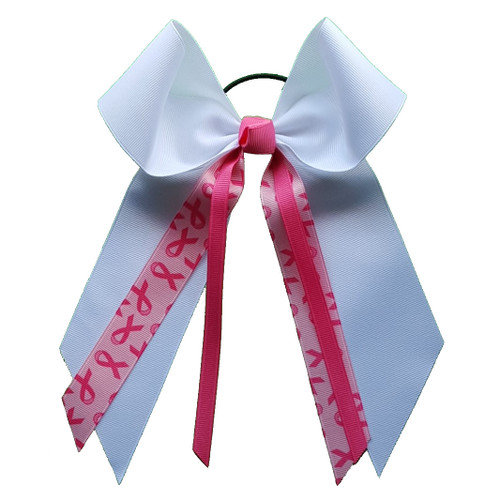 Large Bow Awareness Streamers  LB200BC