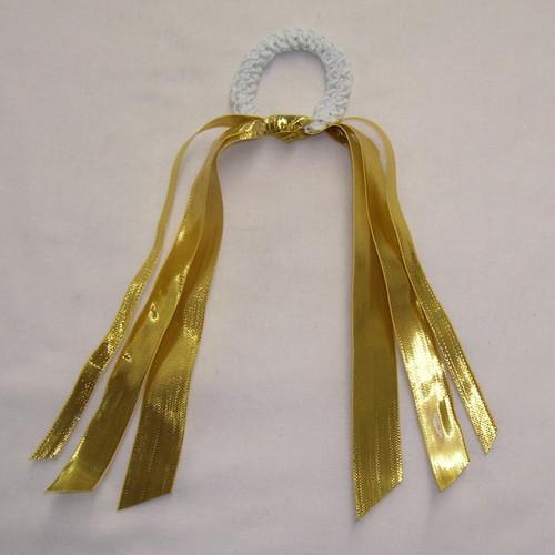Ribbon Scrunch Full Metallic  RIB100MR4