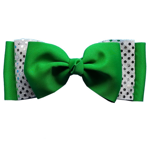 Multi Layer Sequin Accent Loop Bow  MLL300SE1