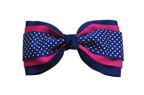 3 Layer Large Bow Tie with Print  TIE300PR