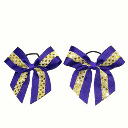 Mini Small Bow with Sequin Pairs  MSB200
