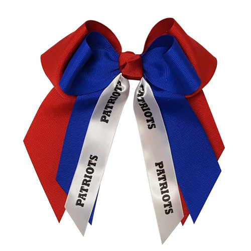 Large Double Bow with Mascot  LDB100MS1