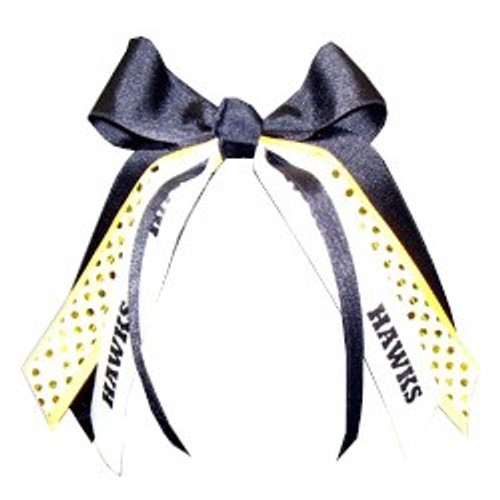 Small Bow with Sequin & Sport or Mascot Streamer  SB400 SP400SP SB400MS