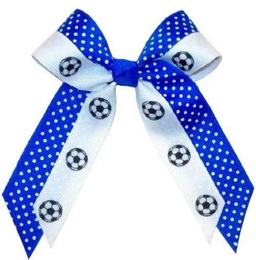 Small Double Layer Print Bow -Fused- Sport or Mascot SB550DLFSPRMS SB550DLFSPRSP