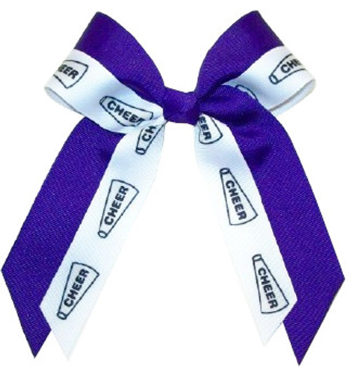 Small Double Layer Bow -Fused- Sport or Mascot  SB550DLFSGMS  SB550DLFSGSP