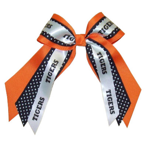 Multi Layer Bow with Print & Mascot or Sport  MLB200MSPR  MLB200SPPR