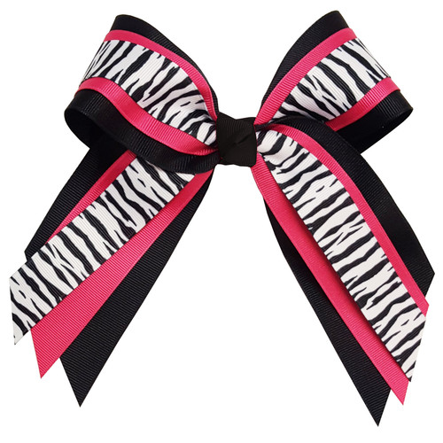 Multi Layer Bow with Print Top  MLB200PR1