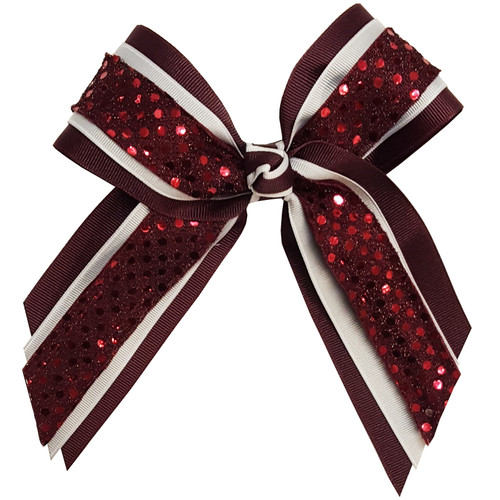 Multi Layer Bow with Sequin  MLB600