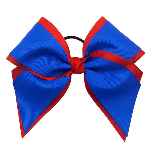 Extra Large Two Layer Bow Plain or with Mascot  XLMLB100 XLMLB100MS