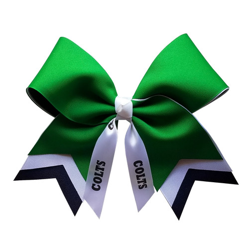 Extra Large Arrow Tail Bow with or without Mascot or Sport XLAR100 XLAR100SP XLAR100MS