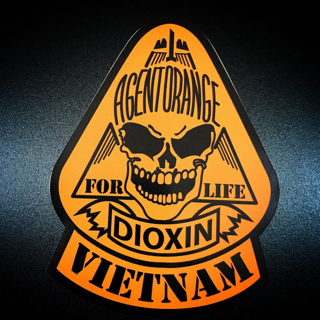 Agent Orange Dioxin - Sticker