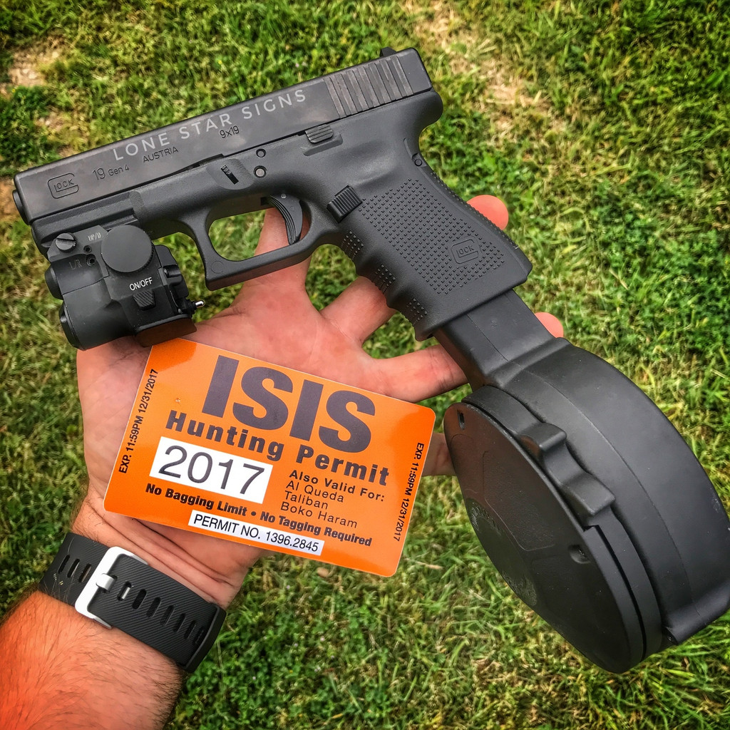ISIS Hunting Permit