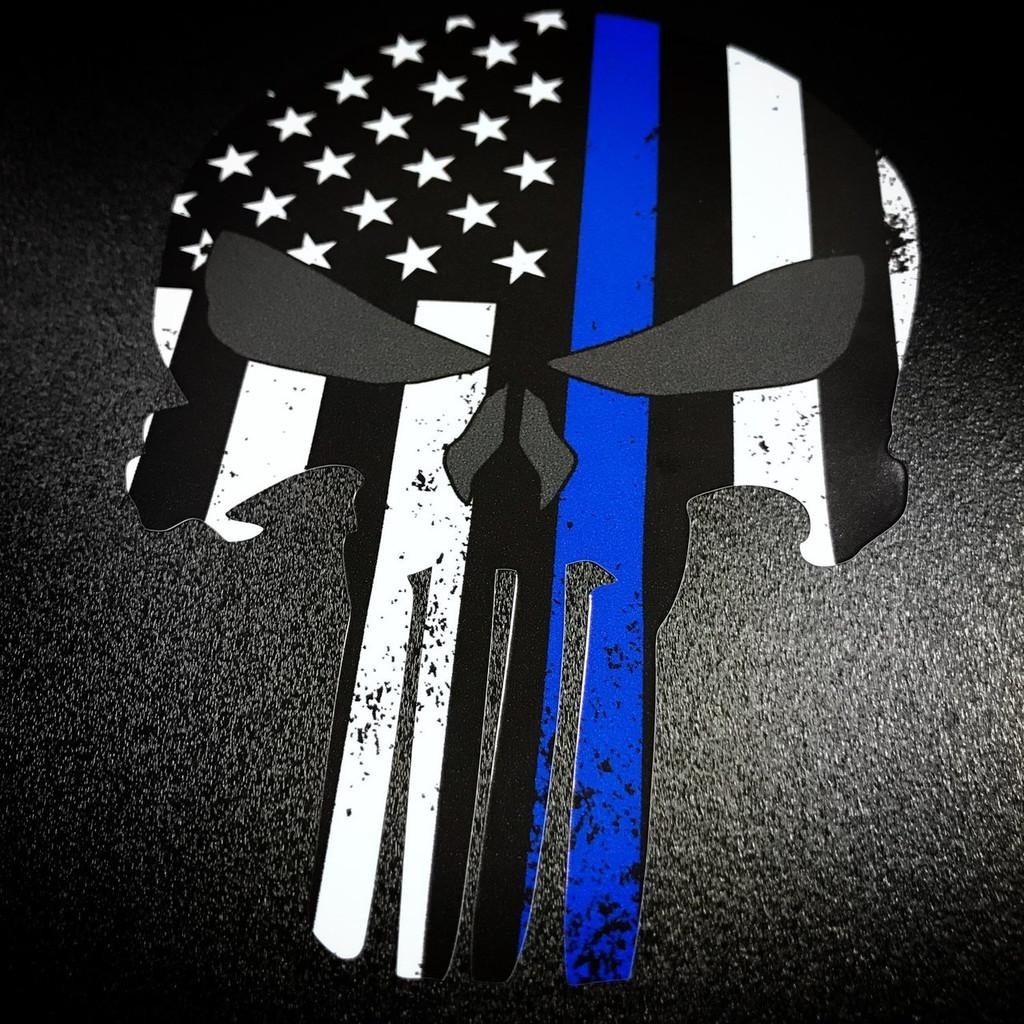 Thin Blue Line Punisher