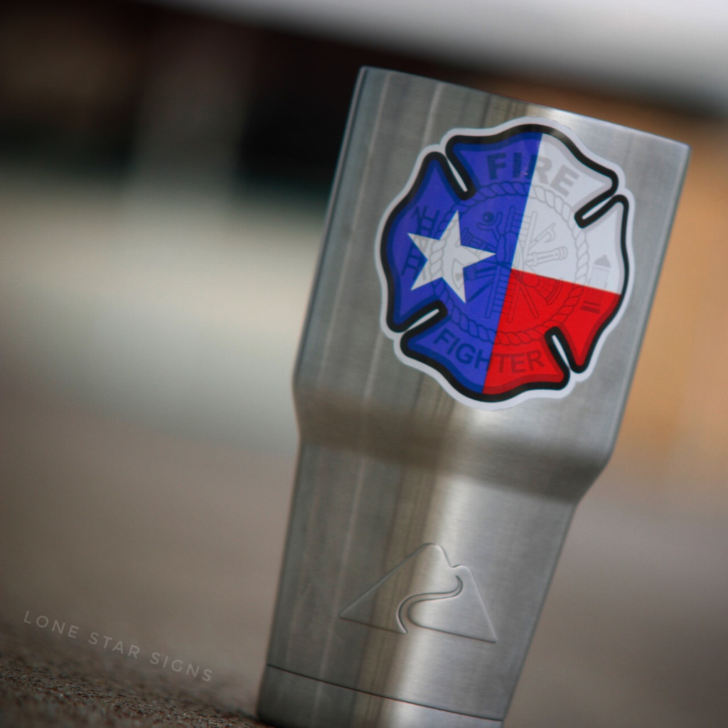 Texas Firefighter Maltese Cross